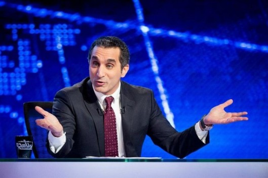 Bassem Youssef is one of Egypt's most popular TV hosts