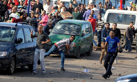 Deadly clashes took place in Alexandria, pictured here last year