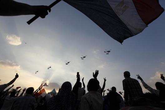 The military is Egypt's most popular institution