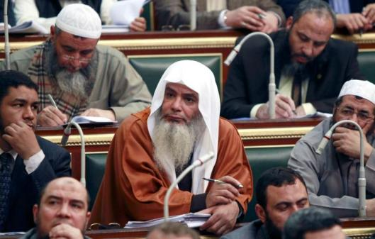 Salafi members of Egypt's parliament
